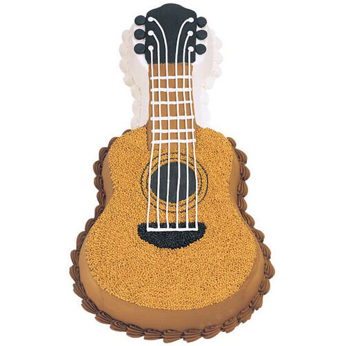 Wilton Cake Decorating Guitar Cake