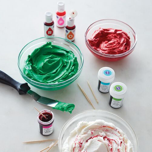 How to Color Icing