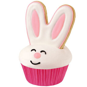 3-D Easter Bunny Cupcakes