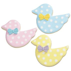 Dotty Duck New Baby Cookies