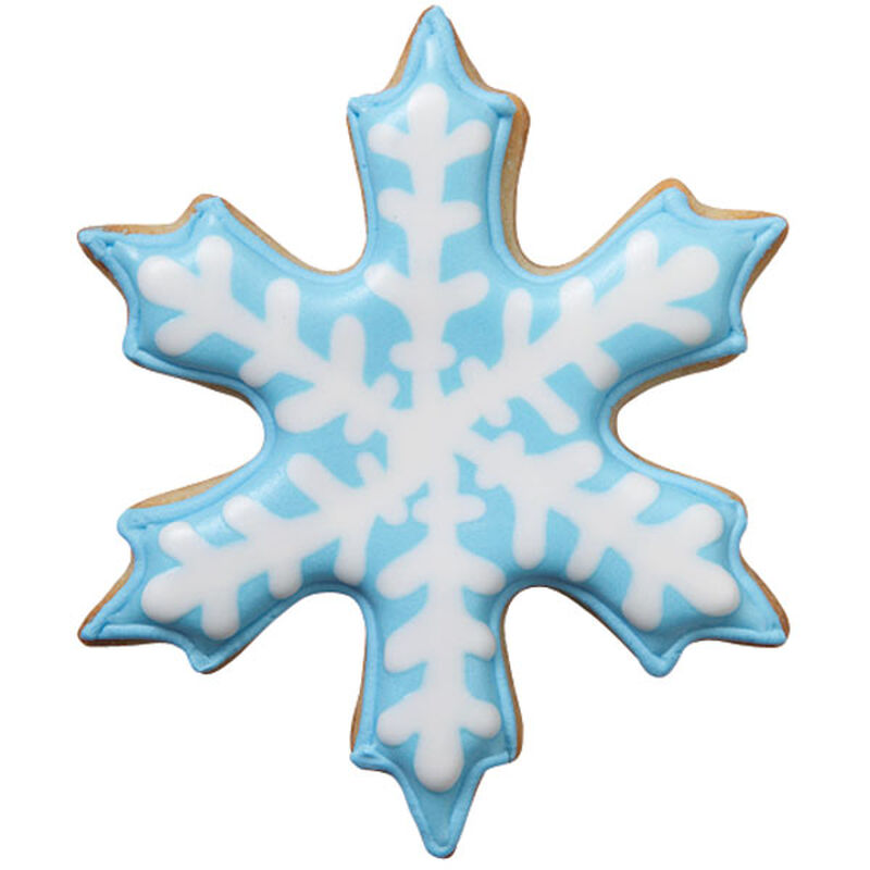 Blue Snowflake Cookie image number 0