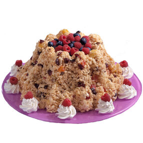 Festive Rice Cereal Fruit Cake