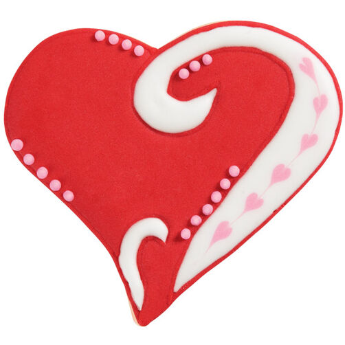 Stylized Heart Cookie
