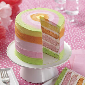 Wilton Summer Citrus 5-Layer Cake