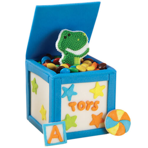 Rex in the Box Mini Cakes