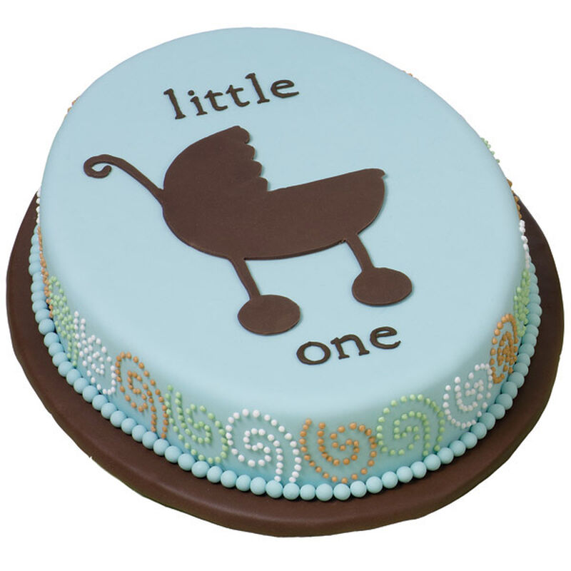 Strolling in Style Baby Cake image number 0