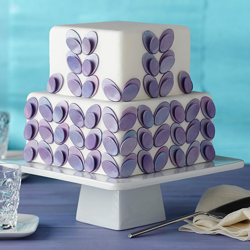 Seeing Double Ovals Fondant Cake image number 0