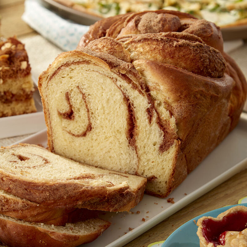 Cinnamon and Aleppo Pepper Braided Loaf Recipe image number 1