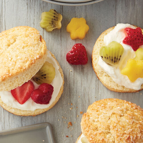 Sweet Fruit Shortcakes