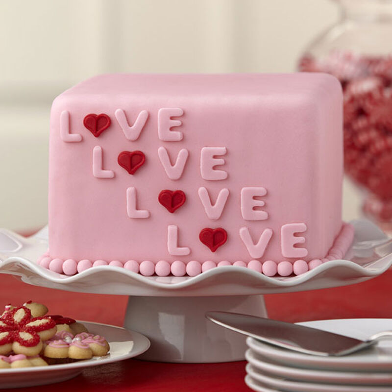 Layered with Love Fondant Cake image number 0