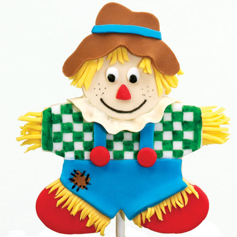 Fondant Scarecrow image number 0