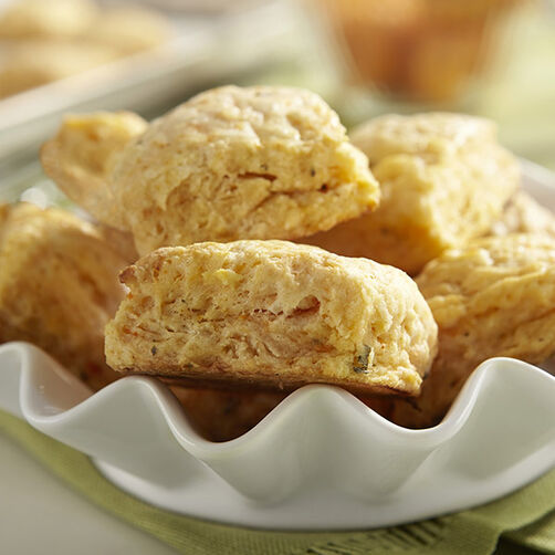 Smoky Sweet Potato Sage Biscuits
