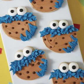 Sesame Street Cookie Monster Cookies