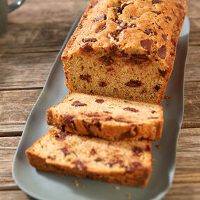 Chocolate Chunk Zucchini Bread Recipe
