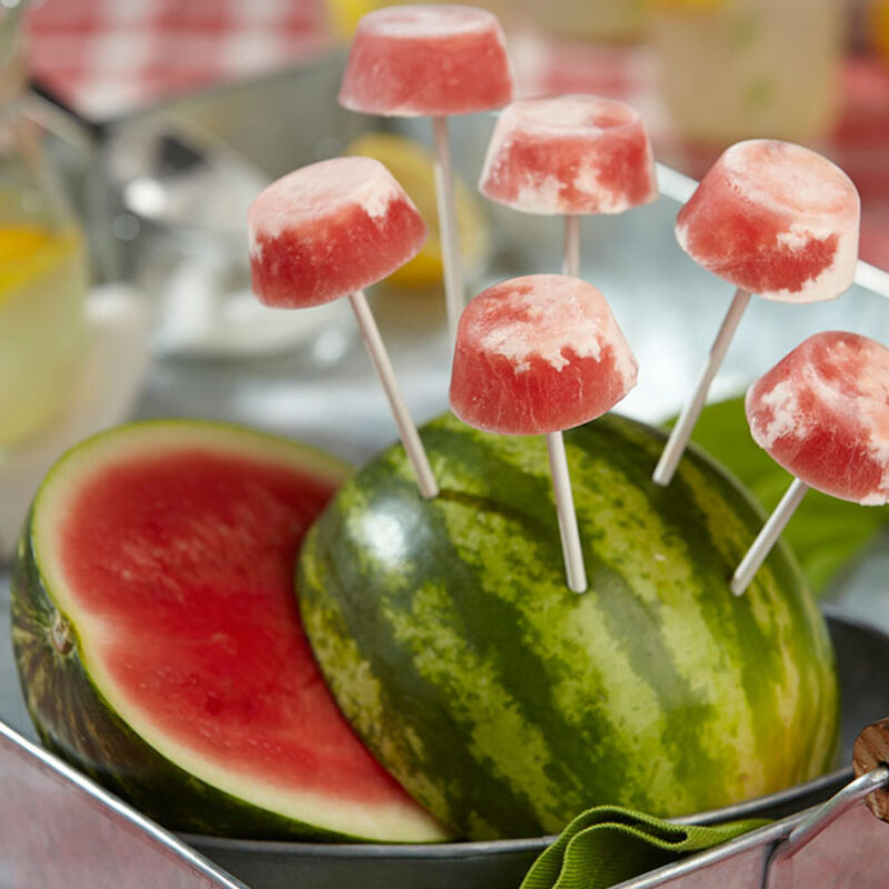 Watermelon Popsicles image number 1