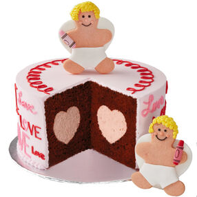 Color Me Cupid Cake