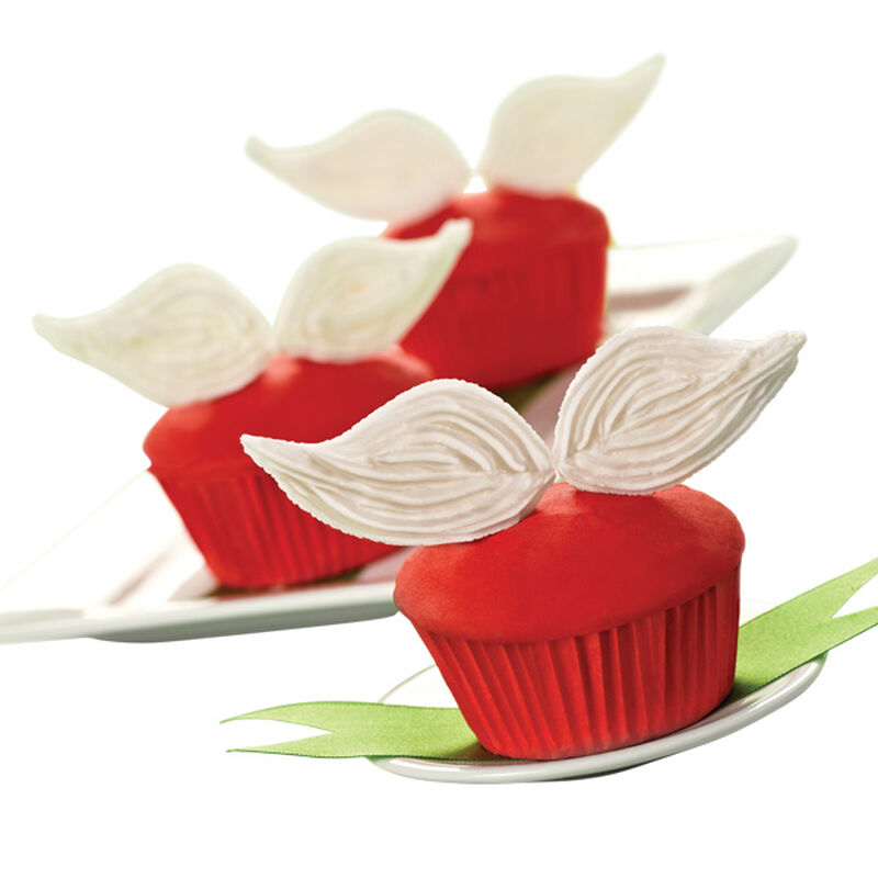 Santa's Mustache Christmas Cupcakes image number 0