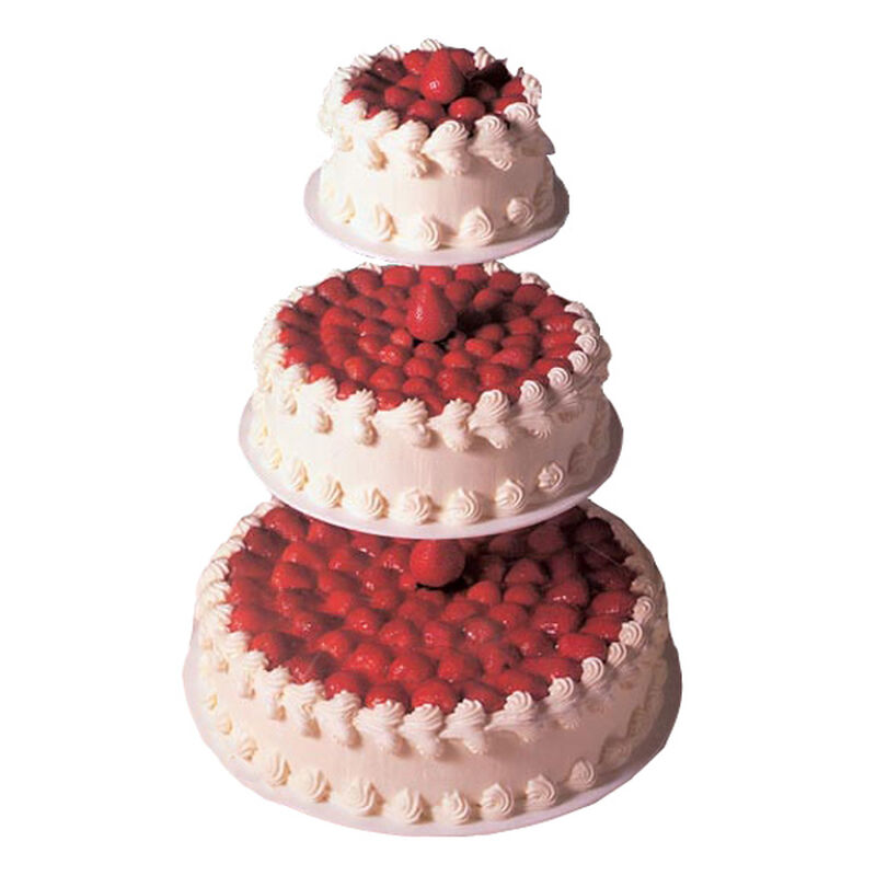 3-Tier Wedding Cheesecake image number 0