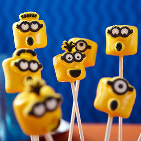 Mischevous Minion Marshmallows