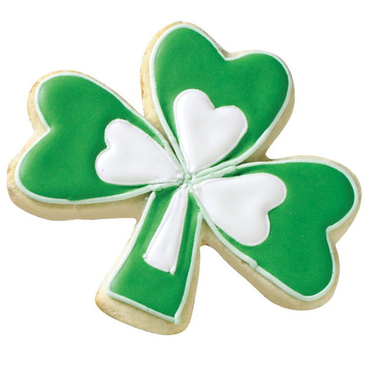Pick a Lucky Double Shamrock Cookie