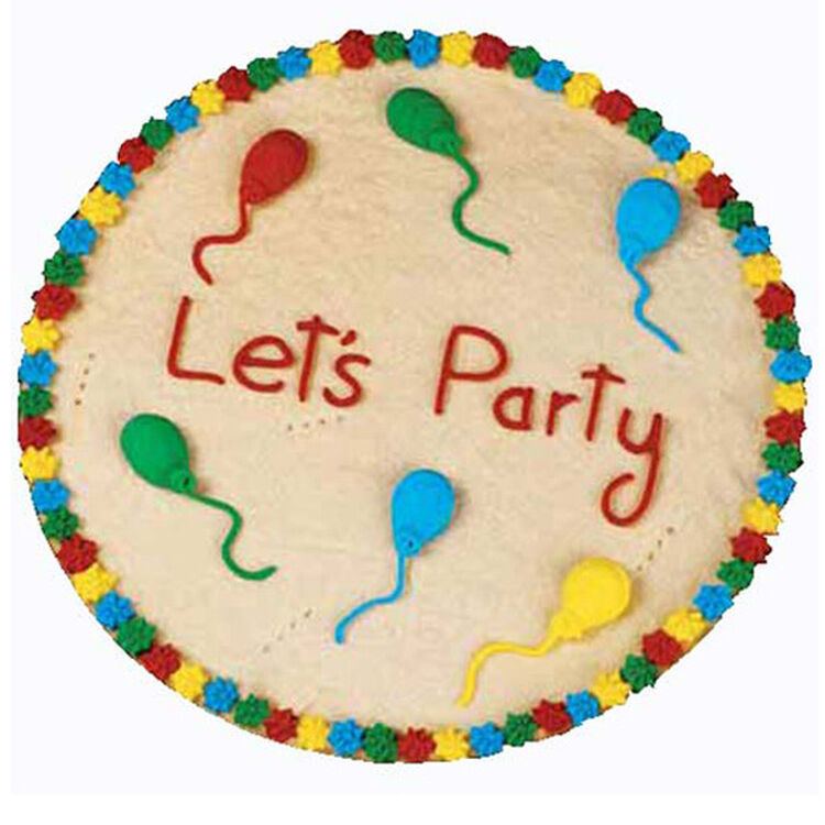 Let's Party Cookie