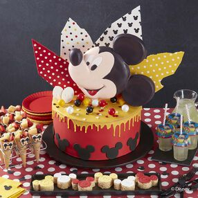 Wilton Mickey Mouse Club Cake