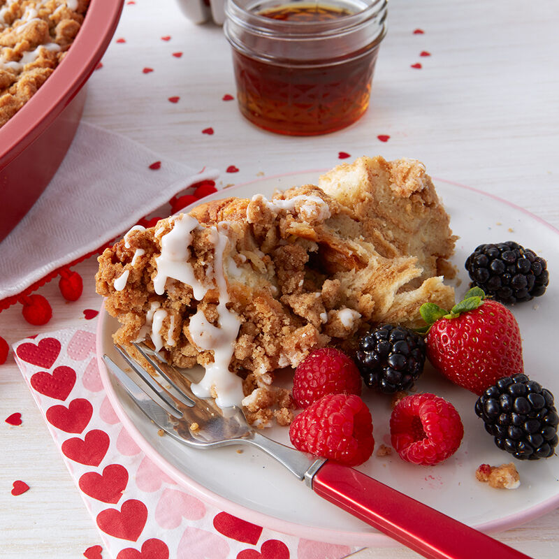 Valentine?s Day Baked French Toast Recipe image number 1