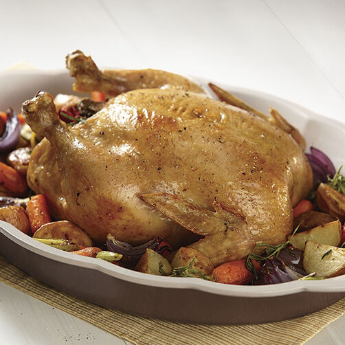 Oven Roasted Chicken with Rosemary Vegetables