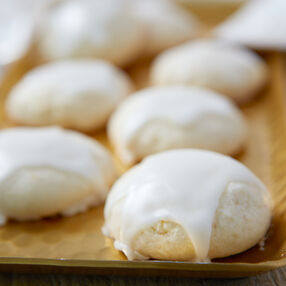 Lemon Meltaway Cookies Recipe