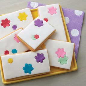 Flower Inlay Cookies