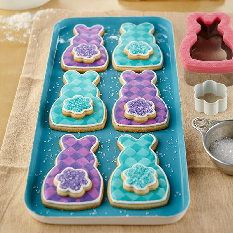 Plaid Easter Cottontail Bunny Cookies image number 0