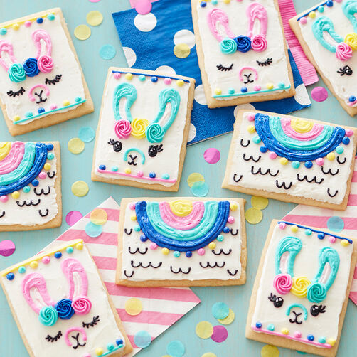 Lovely Llama Cookies