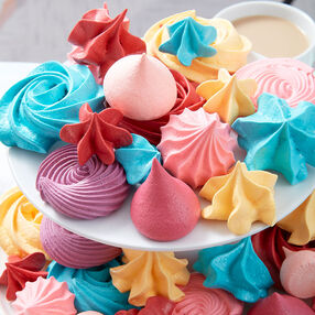 Bright and Bold Meringues
