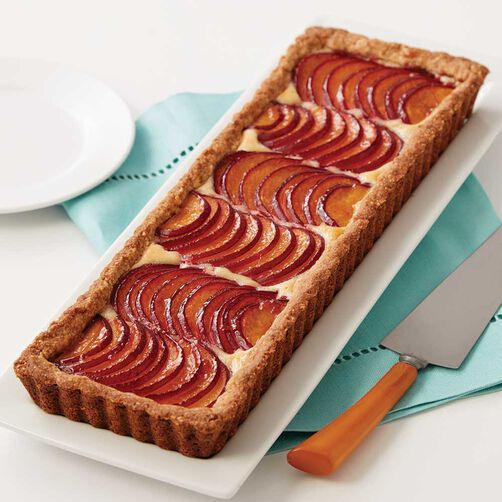 Wilton Plum and Almond Tart