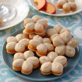 Peach Bellini Sandwich Cookies Recipe