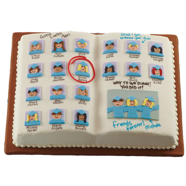 Paging All Your Friends Cake
