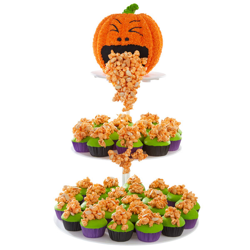 Halloween Surprise Cake and Cupcakes image number 0