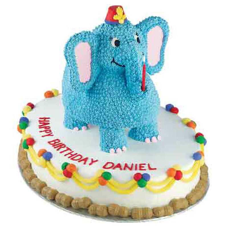 Birthday Elephant Cake image number 0