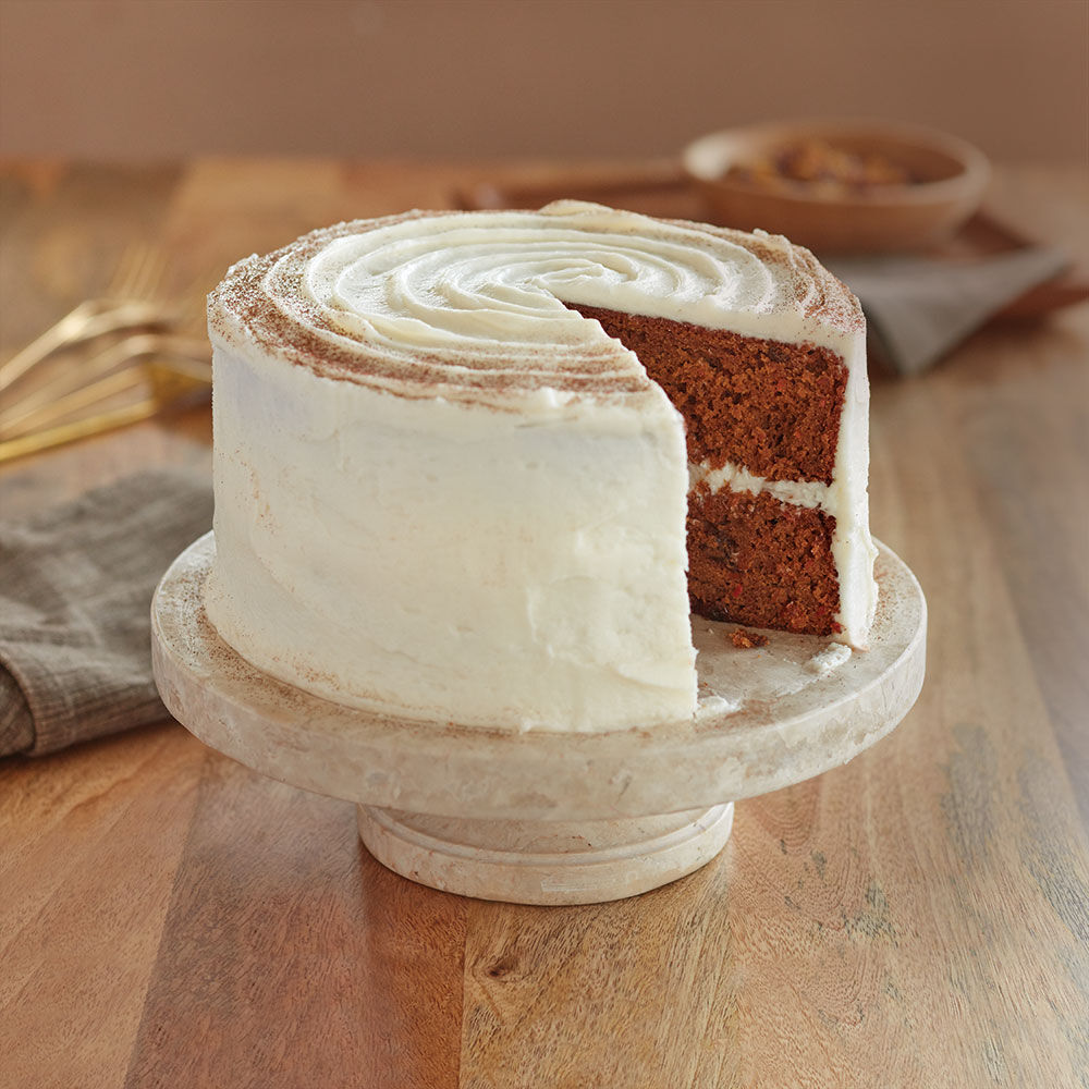 Carrot Cake With Cream Cheese Frosting Recipe Wilton