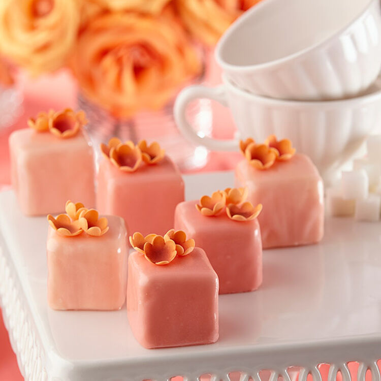 Blossom Blush Petit Fours