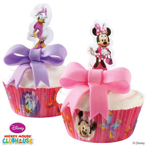 Minnie Mouse & Daisy Dress Up Cupcakes
