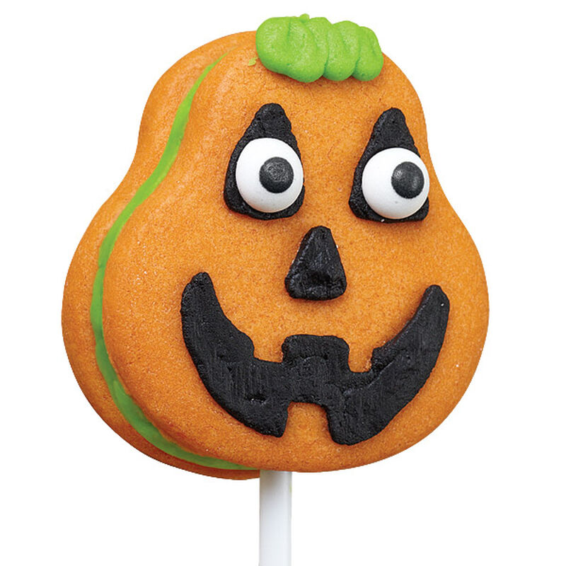 Silly Pumpkin Cookie Pop image number 0