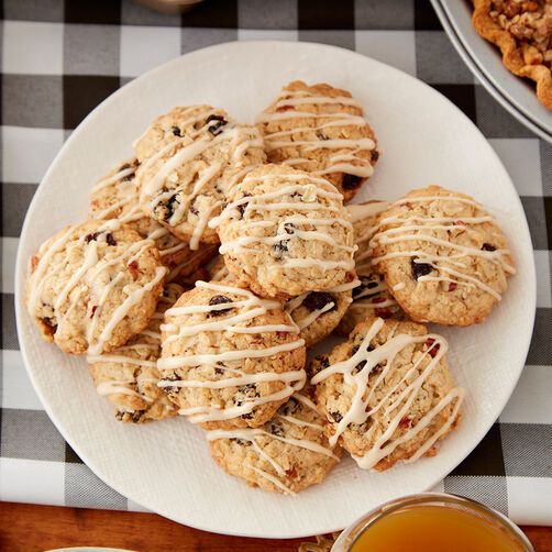 Maple and Brown Sugar Oatmeal Cookies Recipe