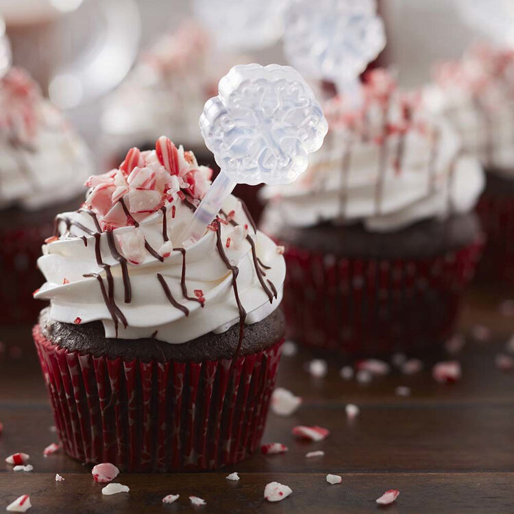 Alcohol Infused Cupcakes - Spiked Peppermint Mocha Cupcakes Recipe