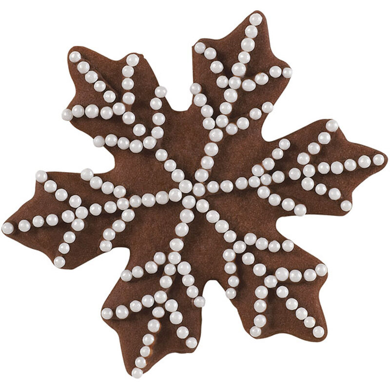 Pearly Snowflake Holiday Cookie image number 0