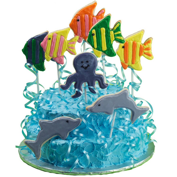 Fun Under The Sea Cake and Cookies