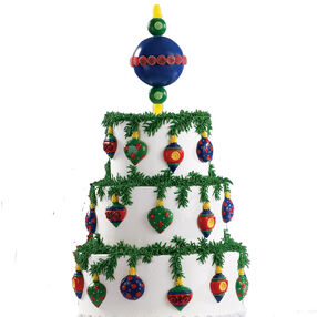 A Real Tree Topper Cake