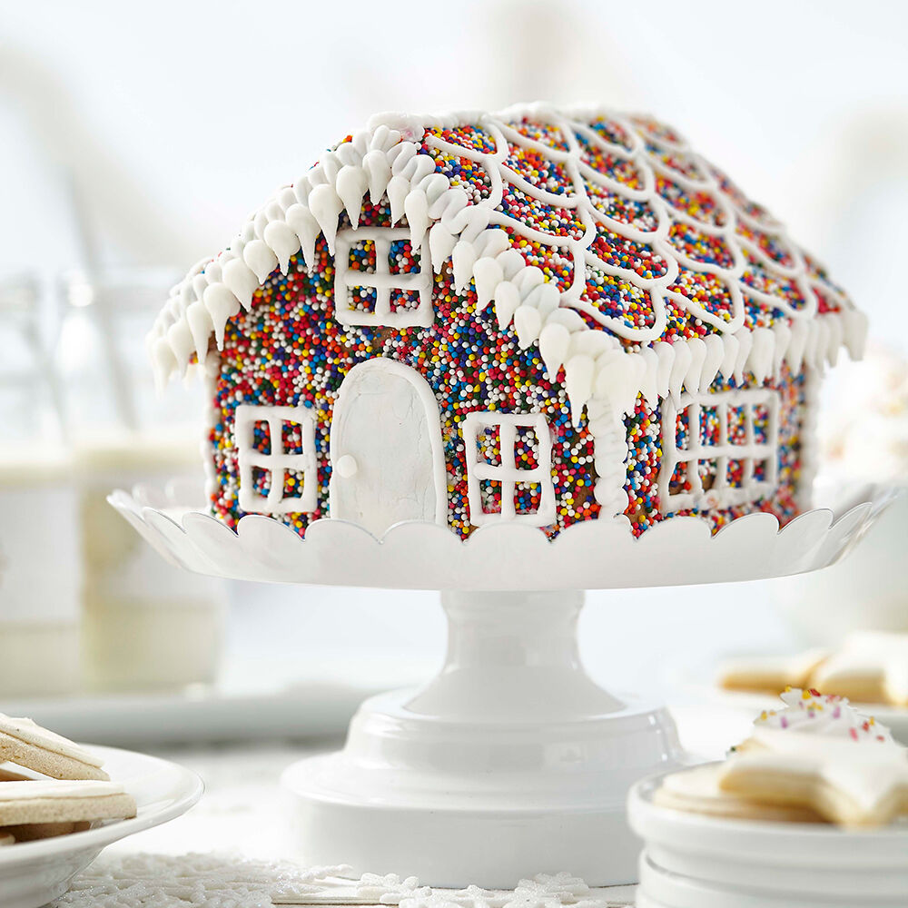 Sprinkles Of Fun Gingerbread House Wilton