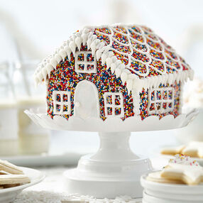 Sprinkles of Fun Gingerbread House