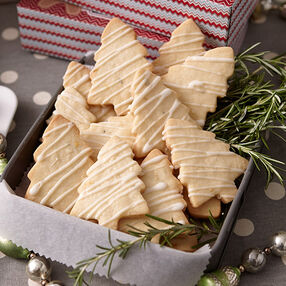 Rosemary-Lemon Shortbread